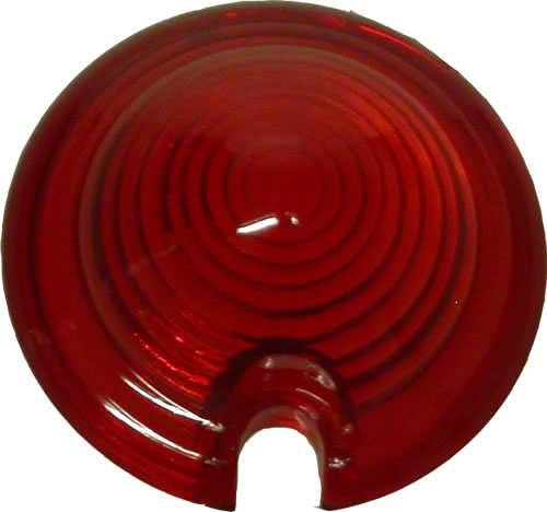 Bullet Light Lens Glass Red Motorcycle Products Ltd
