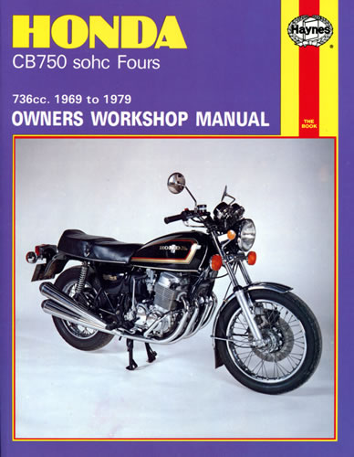 haynes service manual honda cb750 1969 79 sohc motorcycle rh motorcycleproducts co uk honda cb750 owners manual pdf honda cb 750 k7 service manual