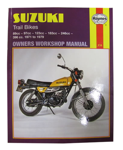 haynes service manual suzuki ts185 1971 78 motorcycle products ltd rh motorcycleproducts co uk Carburetor TS185 1974 Suzuki TS185
