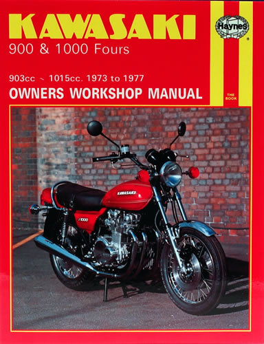 haynes service manual kawasaki z1 900 1973 75 motorcycle products uk. Black Bedroom Furniture Sets. Home Design Ideas