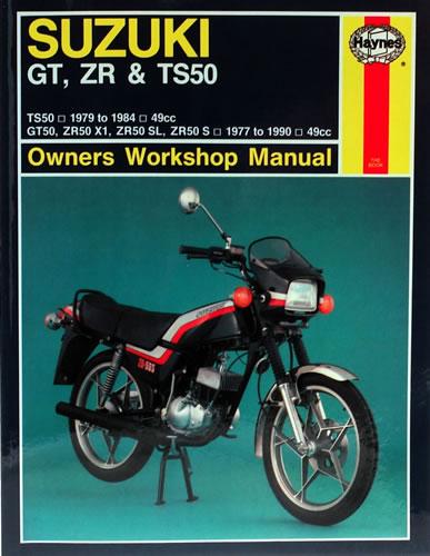 haynes workshop manual suzuki zr50 slkx 1981 motorcycle. Black Bedroom Furniture Sets. Home Design Ideas