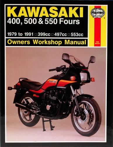 haynes service manual kawasaki z550 1980 84 motorcycle. Black Bedroom Furniture Sets. Home Design Ideas