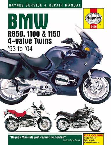 Haynes Manual BMW R850R 1995 on