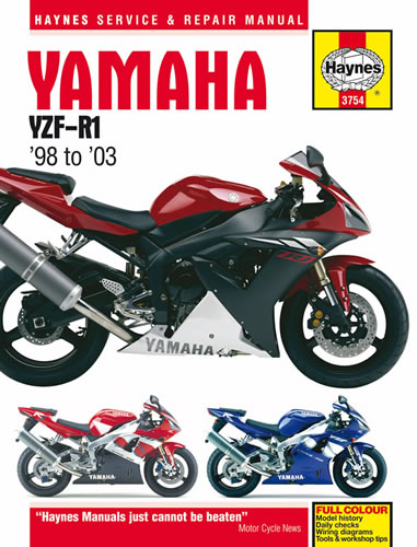 haynes workshop manual yamaha yzf r1 2002 motorcycle products ltd rh motorcycleproducts co uk 2004 r1 service manual 2004 r1 service manual