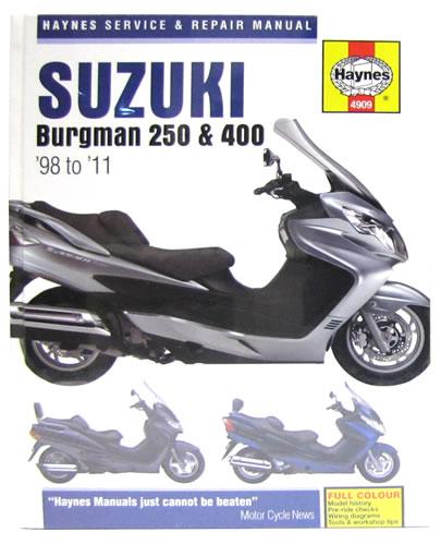 haynes service manual suzuki an250 1998 11 motorcycle. Black Bedroom Furniture Sets. Home Design Ideas