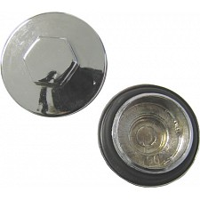 30mm x 1.5mm Chrome Tappet Covers