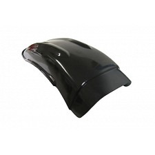 Black Competition Rear Mudguard