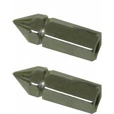 6mm Chrome Pike Nuts