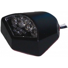 Stealth Shaped LED Number Plate Light