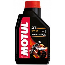 Motul 710 2T 100% Synthetic Oil (1 Litre)