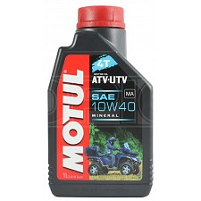 Motul ATV/UTV 10W-40 4T Mineral Oil (1 Litre)