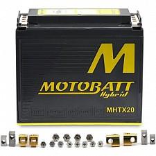 Motobatt MHTX20 Hybrid Lithium Battery