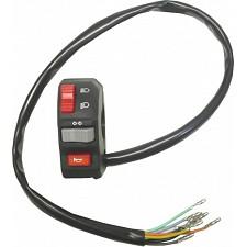 Universal Handlebar Lights, Indicator & Horn Switch (L/H)