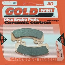 Goldfren AD905 Light Aircraft Brake Pads Marc Ingegno Brake Calipers Tecnam Sierra RG P2002 P96 Golf