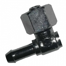 Petrol Tap 90 Degree Elbow Nut & Nozzle for 1/2