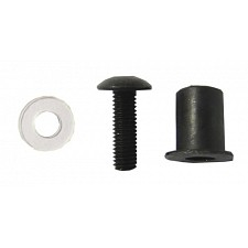 Rubber Fairing Bushes with Black 5mm Screws