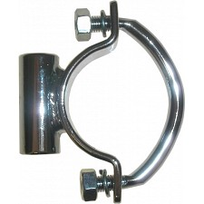 Chrome Universal Clamp-On Seat Bracket