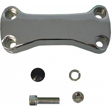 Chrome Handlebar Clamp